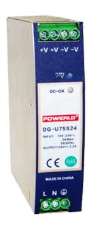 DG-U75SX Din rail power supply
